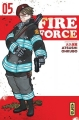 Couverture Fire force, tome 05 Editions Kana (Shônen) 2018