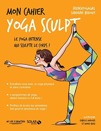 Couverture Mon cahier : Yoga sculpt