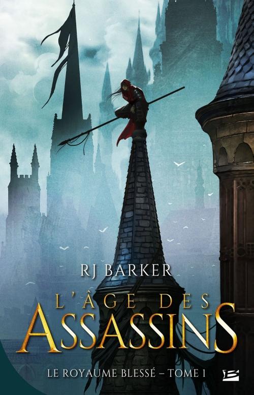 Couverture Le royaume blessé, tome 1 : L'âge des assassins