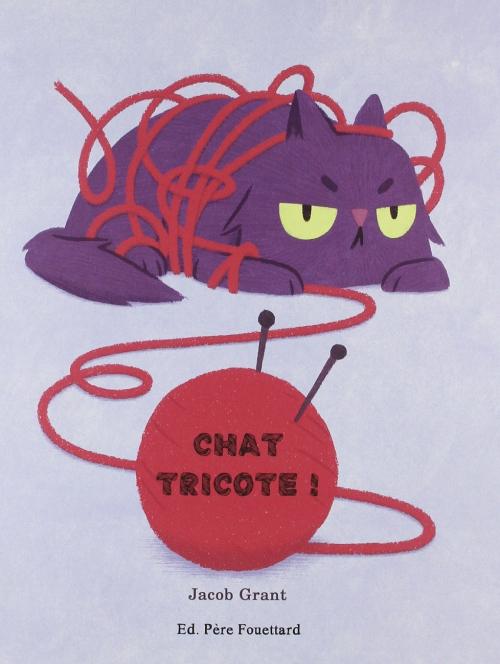 Couverture Chat tricote !