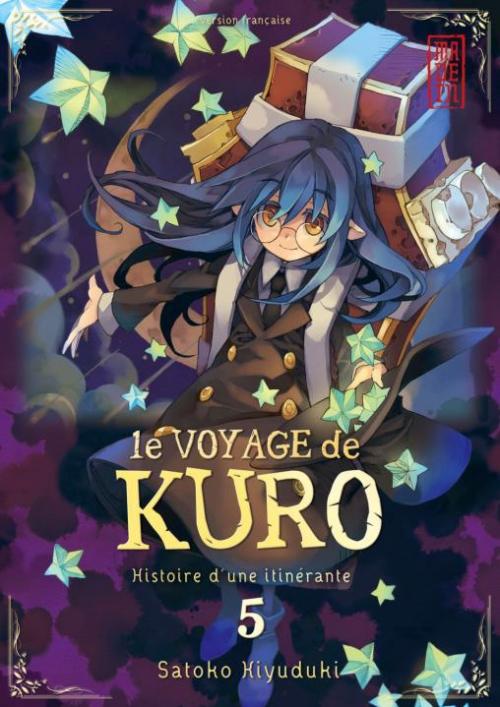 Couverture Le voyage de Kuro, tome 5