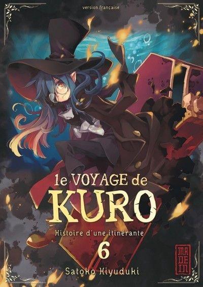 Couverture Le voyage de Kuro, tome 6