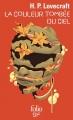 Couverture La couleur tombée du ciel Editions Folio  (SF) 2000