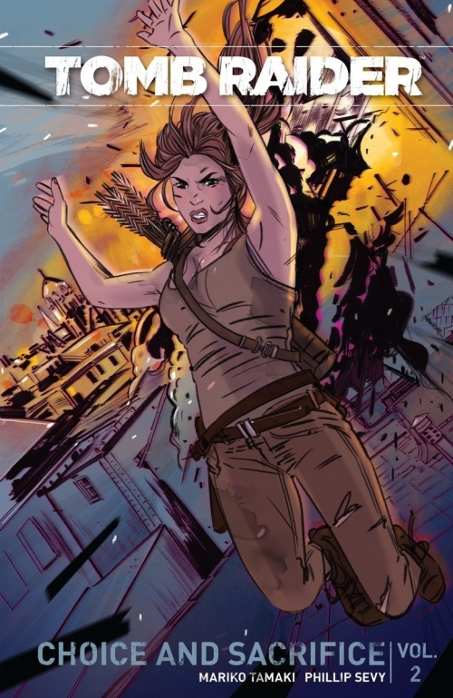 Couverture Tomb Raider II, tome 2