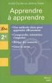 Couverture Apprendre à apprendre Editions Librio (Mémo) 2007