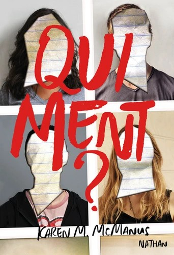 Couverture One of us is lying, tome 1 : Qui ment ?