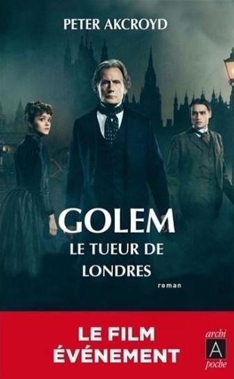 Couverture Le golem de Londres / Golem : Le tueur de Londres