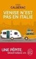 Couverture Venise n'est pas en Italie Editions Le Livre de Poche 2017