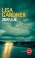 Couverture Disparue Editions Le Livre de Poche (Thriller) 2014
