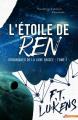 Couverture Les chroniques de la lune brisée, tome 1 : L'étoile de Ren Editions MxM Bookmark (New adult) 2018