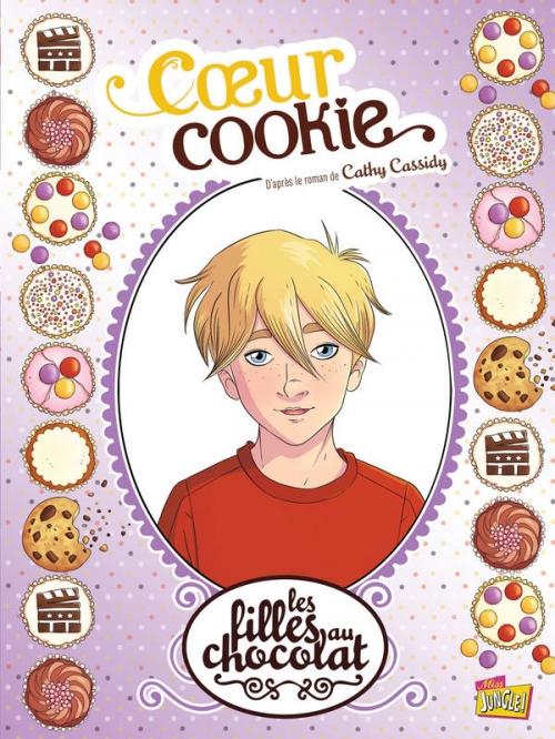Couverture Les filles au chocolat (BD), tome 6 : Coeur cookie