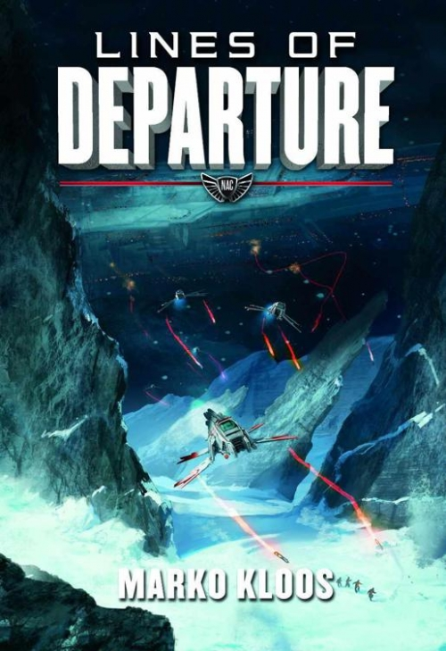 Couverture Frontlines, book 2: Lines of Departure