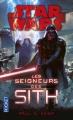 Couverture Star Wars : Les seigneurs des Sith Editions Pocket 2016