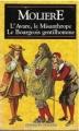 Couverture L'Avare, Le Misanthrope, Le Bourgeois gentilhomme Editions Booking International (Classiques français) 1995