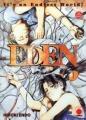Couverture Eden, tome 01 Editions Panini 1998