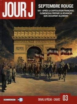 Couverture Jour J, tome 03 : Septembre rouge