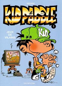 Couverture Kid Paddle, tome 01 : Jeux de vilains