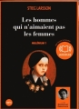 Couverture Millénium, tome 1 : Les hommes qui n'aimaient pas les femmes Editions Audiolib 2008