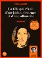 Couverture Millénium, tome 2 : La fille qui rêvait d'un bidon d'essence et d'une allumette Editions Audiolib 2008