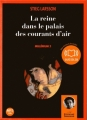 Couverture Millénium, tome 3 : La reine dans le palais des courants d'air Editions Audiolib 2008