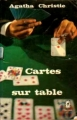 Couverture Cartes sur table Editions Le Livre de Poche 1971