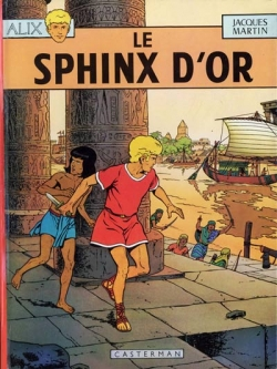 Couverture Alix, tome 02 : Le Sphinx d'or