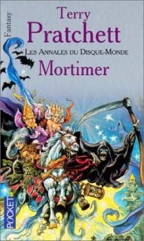 Couverture Les Annales du Disque-Monde, tome 04 : Mortimer
