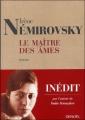 Couverture Le maître des âmes Editions Denoël 2005