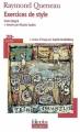 Couverture Exercices de style Editions Folio  (Plus classiques) 2007