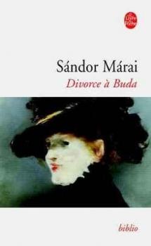 Couverture Divorce à Buda