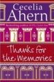 Couverture Merci pour les souvenirs Editions HarperCollins 2008
