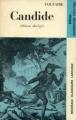 Couverture Candide / Candide ou l'optimisme Editions Larousse (Nouveaux classiques) 1970
