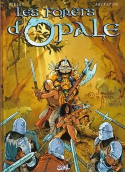 Couverture Les forêts d'Opale, tome 1 : Le bracelet de Cohars