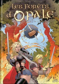Couverture Les forêts d'Opale, tome 3 : La cicatrice verte