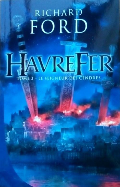 Couverture Havrefer, tome 3 : Le seigneur des cendres