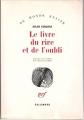 Couverture Le livre du rire et de l'oubli Editions Gallimard  (Du monde entier) 1979