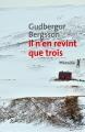 Couverture Il n'en revint que trois Editions Métailié (Bibliothèque nordique) 2018