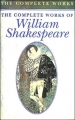Couverture The complete works of William Shakespeare Editions Parragon (UK) 1993