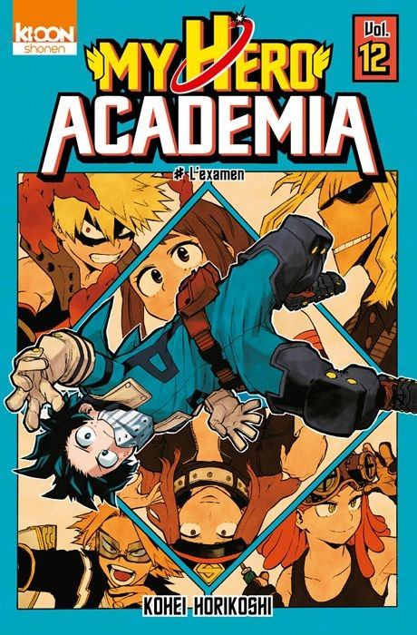 Couverture My Hero Academia, tome 12 : L'examen