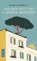 Couverture Les amoureux de l'Hôtel Montini Editions Pocket 2018