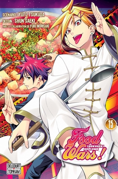 Couverture Food wars !, tome 15