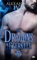Couverture Les dragons de l'éternité, tome 3 : Char Editions Milady 2018