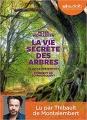 Couverture La vie secrète des arbres Editions Audiolib 2017