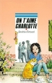 Couverture On t'aime Charlotte Editions Rageot (Cascade) 2001