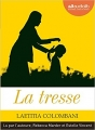 Couverture La tresse Editions Audiolib 2017