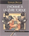 Couverture L'homme à la lèvre tordue Editions Hatier 1994