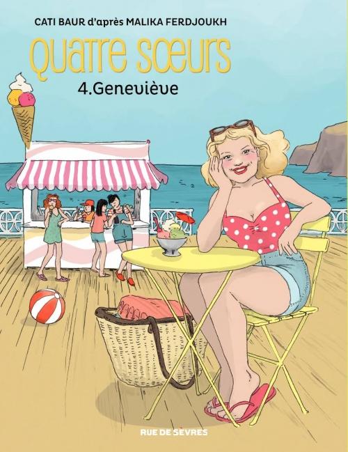 Couverture Quatre soeurs (BD), tome 4 : Geneviève