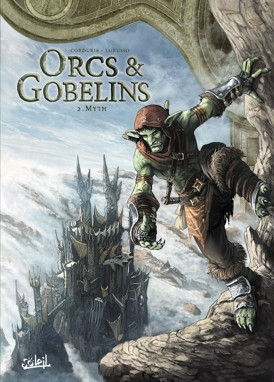 Couverture Orcs & Gobelins, tome 2 : Myth