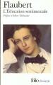 Couverture L'Education sentimentale Editions Folio  (Classique) 2001