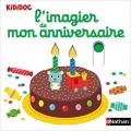 Couverture L'imagier de mon anniversaire Editions Nathan (Kididoc) 2017